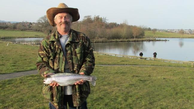 Anthony Jones with the heaviest fish